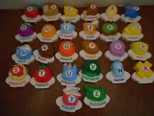 VTech ABC Food Fun Alphabet Magnetic Letters Complete Set  26 Letters A-Z