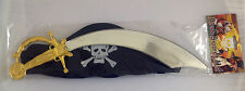 KIDS TOY CAPTAIN JACK PIRATE SET - SWORD & PIRATE HAT