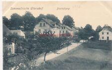 Ak, Sommerfrische in Ullersdorf um 1916, Bischofsweg  (G)19279