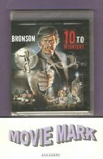 """10 TO MIDNIGHT"" 1983 (Twilight Time) Charles Bronson Blu-ray NEW Only 3000 made"