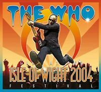 THE WHO - LIVE AT THE ISLE OF WIGHT FESTIVAL 2004 (DVD/2CD)  2 DVD+CD NEW+