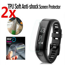 2Pcs TPU Explosion-proof Screen Protector Film Shield For Garmin Vivosmart HR