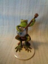 Hagen Renaker Specialty Froggie - Playing Banjo