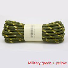 Shoe Laces Round Bootlaces Walking Boot Hiking Boot Strong Laces 4.5mm wide