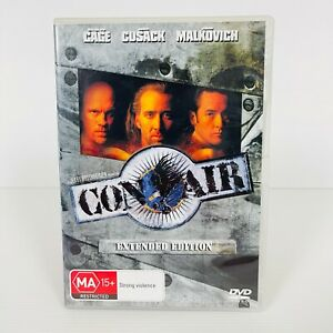 Con Air (DVD, 1997) Nicolas Cage Extended Edition Region 4 Free Postage