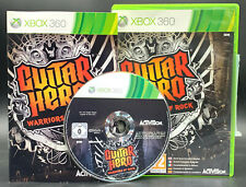 "X-BOX 360 SPIEL "" GUITAR HERO WARRIORS OF ROCK "" OVP + Anleitung (nur Software)"