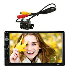 7 inch Universal 2 Din HD BT USB/TF FM Aux Input Car Radio MP5 Player Parts A1O4