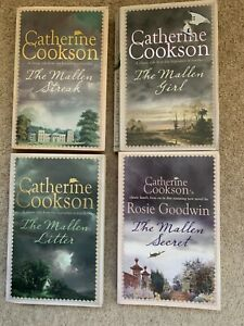 Catherine Cookson - The Mallen Saga - 4 Books VGC