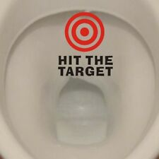 2018 Toilet Training Bullseye Targets for Men and Boys Vinyl PVC Decal Sticker