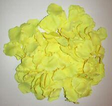 NEW 1000 PCs Yellow Silk Flower Rose Petals Wedding Party Decoration