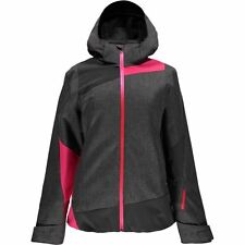 NWT Spyder Women's Weld Crosshatch/Weld/Bryte Pink Lynk 3-in-1 Jacket Sz M, $279