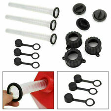 3set Rubbermade Replacement Gas Can Spout Parts Kit Cap Gasket Fuel Container