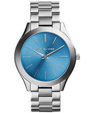 Nuevas damas Turquesa Slim Michael Kors MK3292 reloj de pasarela - 2 Año De Garantía