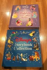 2 Disney'S Storybook Collection & Happily Ever After Princess Stories Lot