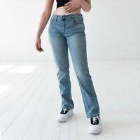 Levi's 505 Gerade Leg Damen Authentic Hellblau Jeans DE 38 / W30 L32