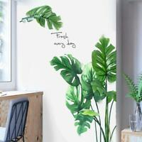 Banana Plant Green Leaf Wall Sticker Decal Living Room Decor 100% new