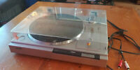 Vintage Sony Direct Drive PS-LX210 Turntable With Dust Cover AS IS