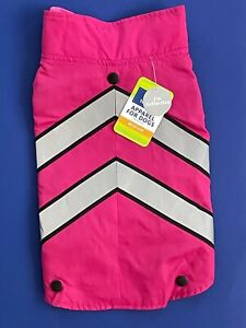Top Paw 2-in-1 Reflective Pink Sweater & Coat Fashion Dog Apparel M NWT