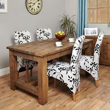 Oak Traditional Fixed Kitchen & Dining Tables