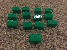 2002 Monopoly Junior  - Toy Story Edition Replacement Green Hotels- Complete Set