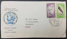 New Zealand 1961 Health Stamps FDC, Roxburgh Health Camp Pictorial Cancel