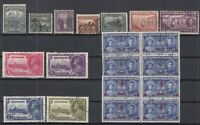 AN5414/ NEWFOUNDLAND – 1919 / 1939 USED SEMI MODERN LOT – CV 210 $