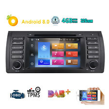 """For BMW E39 7"""" Navigation Android 8.0 Stereo GPS Car DVD Player Radio 1080P 32GB"""