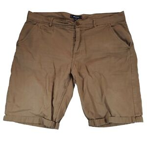Kangol Shorts 2XL Brown Chinos