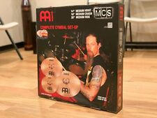 """Meinl MCS 3 Piece Complete Cymbal Set w/FREE 14"""" Classic China and 10"""" Splash"""