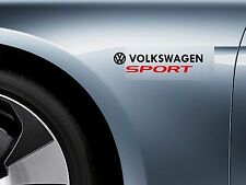 For VW - VOLKSWAGEN SPORT -  CAR DECAL STICKER ADHESIVE - GOLF POLO  300mm long
