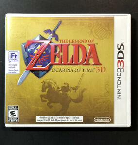 The Legend of Zelda Ocarina of Time 3D [ First Print ] (3DS) USED
