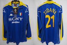 1996-1997 Juventus Jersey Shirt Maglia Away Sony Kappa L/S Zidane #21 XL BNWT