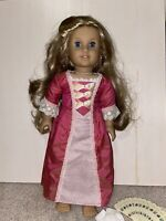 American Girl Doll Elizabeth - 18 Inch Retired Plus Accessories And Meet Outfit