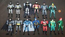 DC Comics BATMAN Figures: 13 Figures BATMAN with POISON IVY