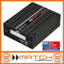 Match M 5DSP 5 Channel Micro Amplifier with Integrated 7 Channel DSP Digital Pro