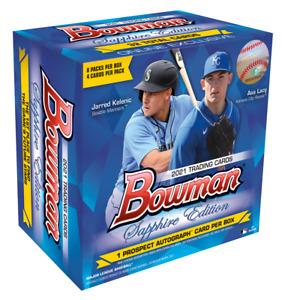 Topps 2021 Bowman Sapphire Edition Sealed Baseball MLB Box *Order Confirmed*