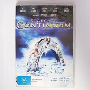 Stargate Continuum Movie DVD Region 4 AUS Free Postage - Action Scifi