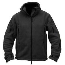 Tactical Military Fleece Men Hooded Jacket Coat Casual Zipper Hoodies Outwear