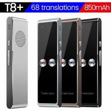 T8 Smart Voice Translator Instant Real Time Voice Translation 68 Language Sliver