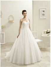 Eddy K 'bouquet Ak124' DESIGNER Wedding Dress Size 8 STUNNING Design