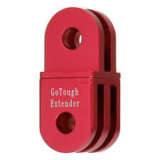 GoTough 20mm Red Extender for GoPro 2 Prong Mount - Aluminum Extension Arm