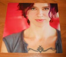 Ani Difranco Red Letter Year Poster 2-Sided Flat Square Promo 12x12 Rare