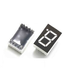 10PCS 0.56 inch 1 digit 7 segment Common cathode Red Led display