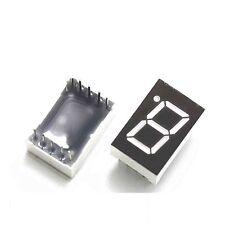 10PCS 0.56 inch 1 digit 7 segment Common cathode Red Led display