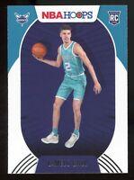 2020-21 Panini NBA Hoops LAMELO BALL Rookie Card RC #223 Charlotte Hornets E9