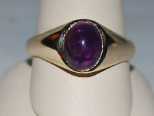 10k Gold ring with Amethyst(February birthstone)