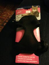 Ancol Soft Mesh Cat Harness with Walking Lead - Small, Medium, Large Pet Kitten