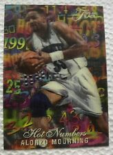 1995-96 Flair Hot Numbers Alonzo Mourning #8/15
