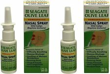 SEAGATE OLIVE LEAF NASAL SPRAY, 1 fl oz (pack of 2)