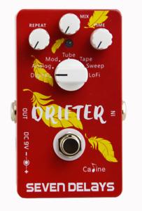 Caline CP-37, Drifter Seven Delays Guitar Effects Pedal